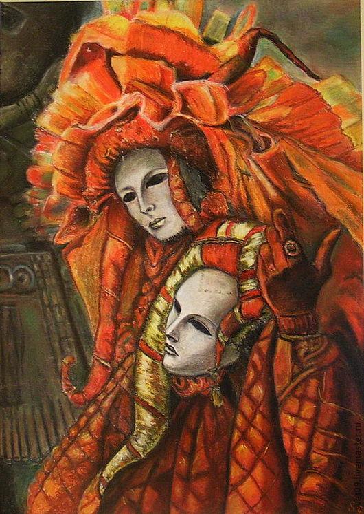 Люди, ручной работы. Ярмарка Мастеров - ручная работа. Купить Карнавал. Handmade. Оранжевый, карнавальный костюм, желтый