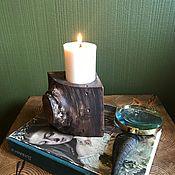 handmade. Livemaster - original item Candlesticks wooden. Handmade.