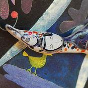 """Украшения ручной работы. Ярмарка Мастеров - ручная работа Броши """"Фокусники"""". Handmade."""