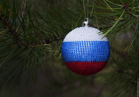 Новогодние шары из бисера ручной работы от Mmarel Санкт-Петербург. Купить елочные шары. Елочные украшения под заказ
