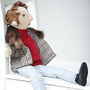 """Куклы и игрушки ручной работы. Ярмарка Мастеров - ручная работа Театральная кукла на руку """"Рок-музыкант"""". Handmade."""