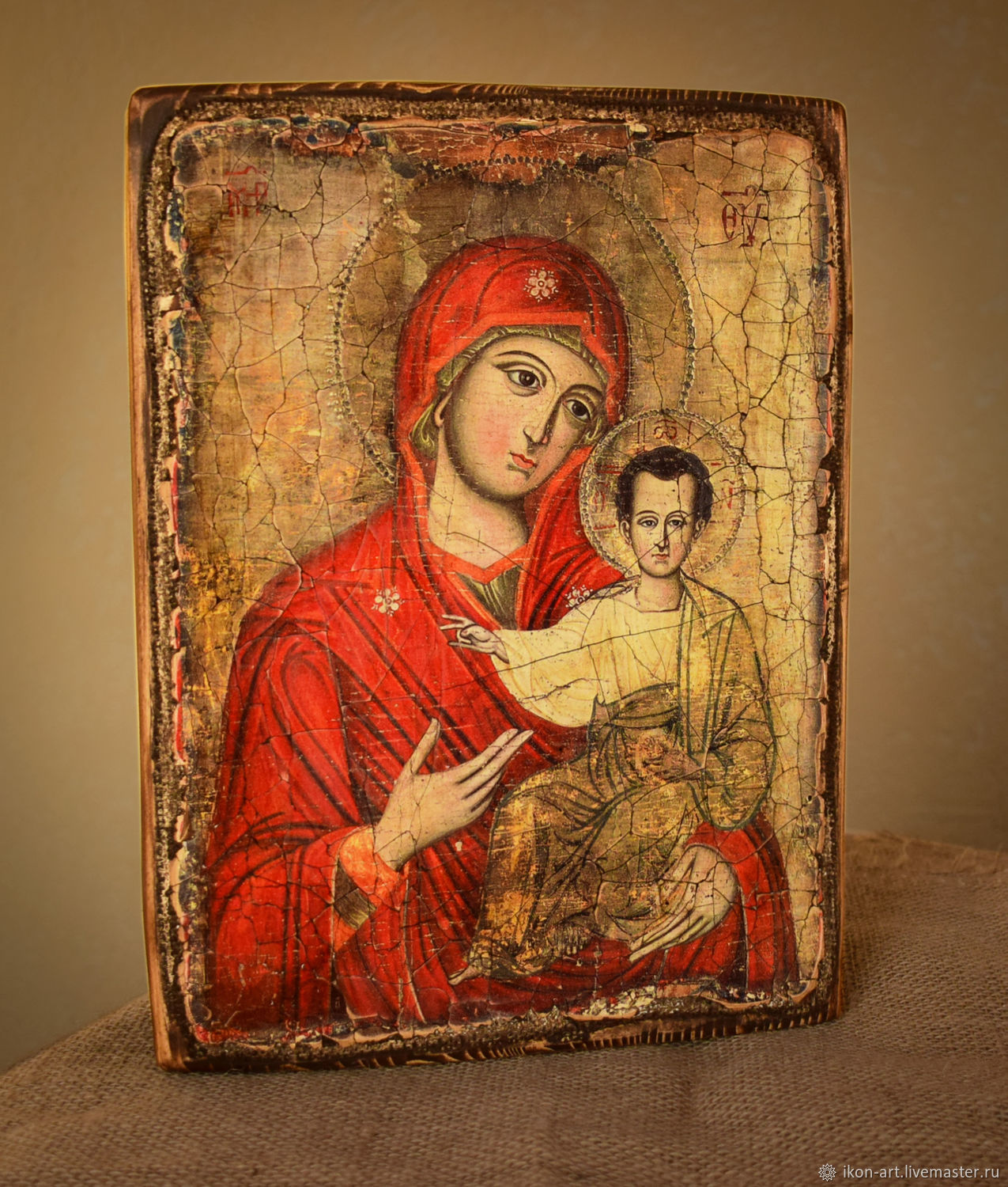 The Mother Of God Icon 'Quick To Hearken', Icons, Simferopol,  Фото №1