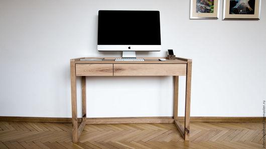 Мебель ручной работы. Ярмарка Мастеров - ручная работа. Купить Письменный стол QUATTRO. Handmade. Мебель ручной работы, стол