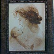 """Картины и панно ручной работы. Ярмарка Мастеров - ручная работа Картина """"Чудо материнства"""". Handmade."""