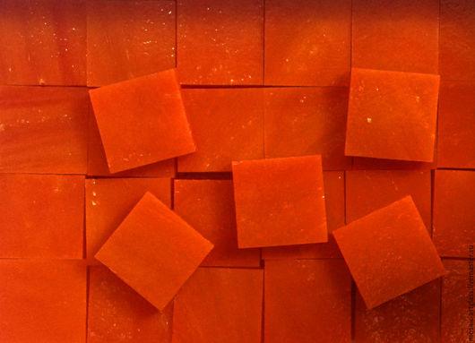 Мозаика для творчества. Оранжево-красный.