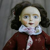 Куклы и игрушки ручной работы. Ярмарка Мастеров - ручная работа Коллекционная кукла из дерева Сулико. Handmade.