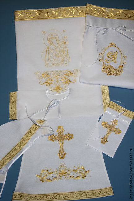 Set for baptism ' joy and Comfort', Christening set, Moscow,  Фото №1