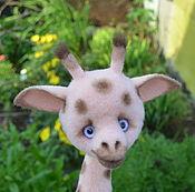 Куклы и игрушки ручной работы. Ярмарка Мастеров - ручная работа Жираф валяный. Handmade.
