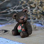 Куклы и игрушки handmade. Livemaster - original item Teddy bears: mini bear Vintage Baby Rose. Handmade.