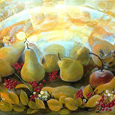 """Картины и панно ручной работы. Ярмарка Мастеров - ручная работа Картина """"Вкусная осень"""". Handmade."""