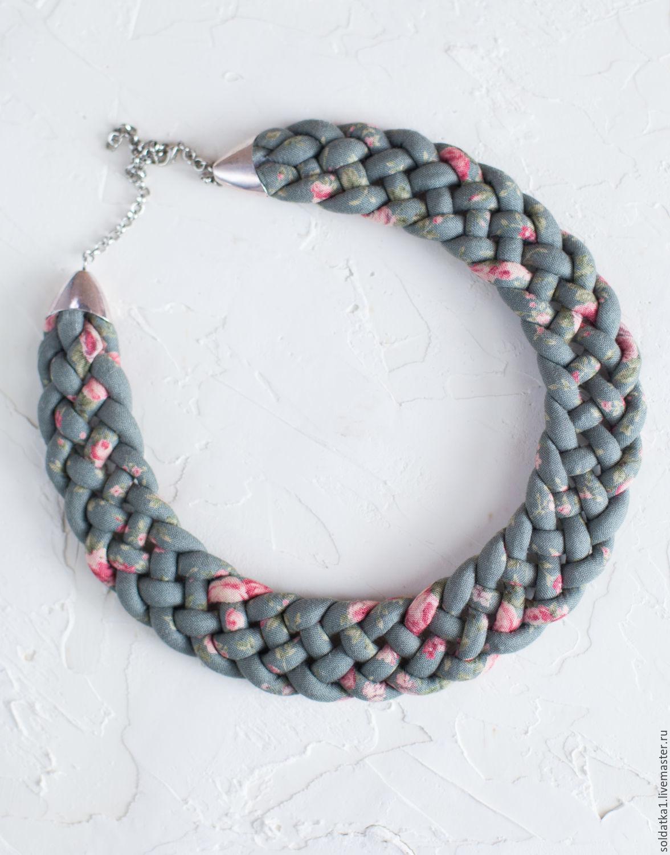 Necklaces ' Delicate rose', Necklace, Serpukhov,  Фото №1