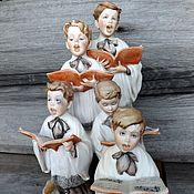"""Скульптурная группа Giuseppe Armani  """"Choir Boys"""" . Италия."""