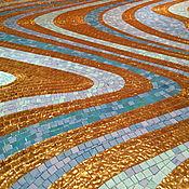 Картины и панно ручной работы. Ярмарка Мастеров - ручная работа Волны (мозаичный декор). Handmade.