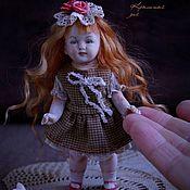 Куклы и игрушки ручной работы. Ярмарка Мастеров - ручная работа Куколка из антикварных деталей Ева. Handmade.