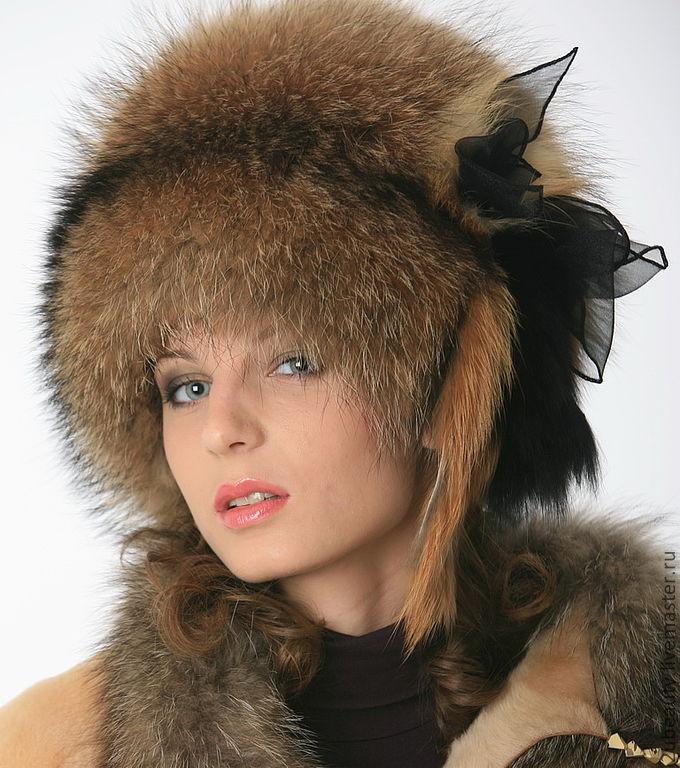 зимние головные уборы для девушек фото
