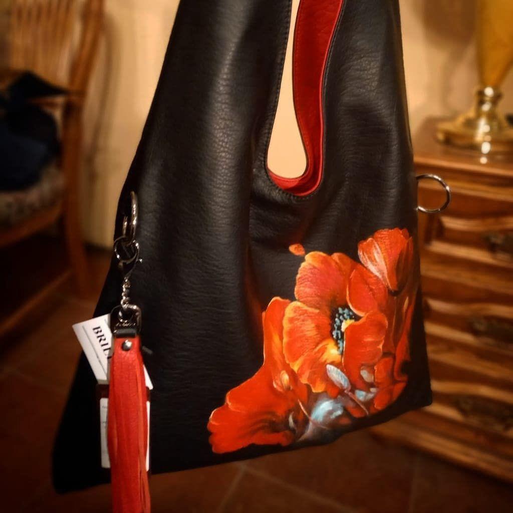 Живопись по коже, Классическая сумка, Москва,  Фото №1