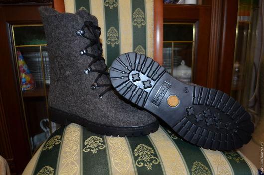 Обувь ручной работы. Ярмарка Мастеров - ручная работа. Купить Ботинки мужские 42 р-р . на заказ можно любой размер. Handmade.