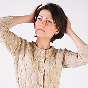 """Одежда ручной работы. Ярмарка Мастеров - ручная работа Вязаная кофта """"Классика"""". Handmade."""