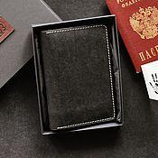 Обложки ручной работы. Ярмарка Мастеров - ручная работа Обложка для документов/паспорта/докхолдер из натуральной кожи. Handmade.