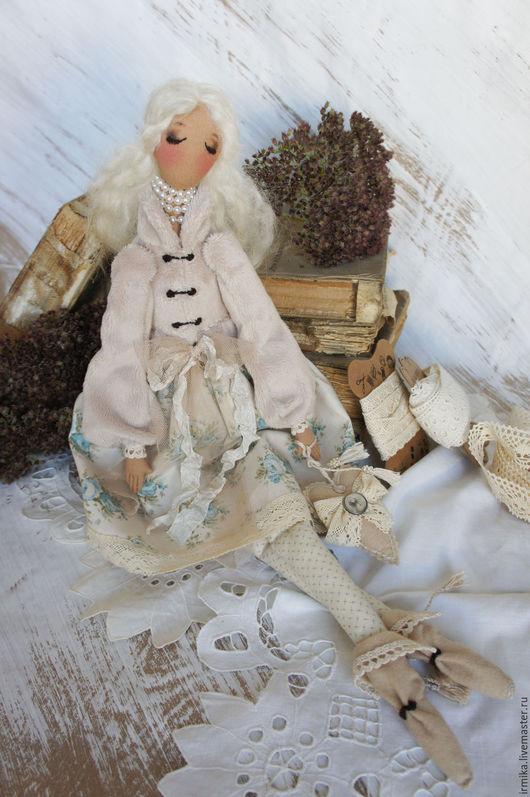 Коллекционные куклы ручной работы. Ярмарка Мастеров - ручная работа. Купить Коллекционная текстильная кукла Агата. Винтаж.. Handmade. кукла