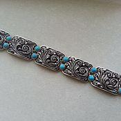 Украшения handmade. Livemaster - original item Cuff bracelet: Silver handmade