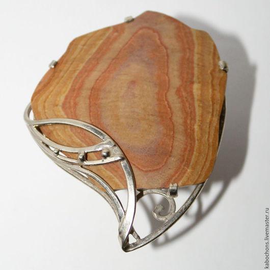 """Кольца ручной работы. Ярмарка Мастеров - ручная работа. Купить Кольцо """"Лепидодендрон"""" ОКАМЕНЕЛОЕ ДЕРЕВО. Handmade. Кремовый, кольцо дерево"""