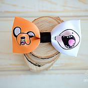 Аксессуары ручной работы. Ярмарка Мастеров - ручная работа Галстук-бабочка Adventure time. Handmade.