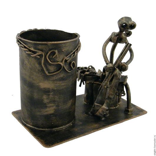 Миниатюрные модели ручной работы. Ярмарка Мастеров - ручная работа. Купить Охотник на привале. Handmade. Скульптурная миниатюра, куклы и игрушки