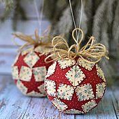Подарки к праздникам handmade. Livemaster - original item The new year`s ball. Handmade.