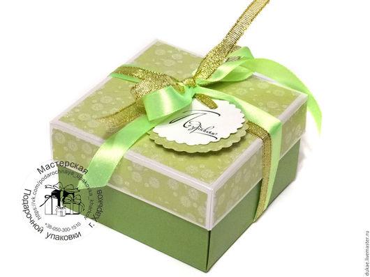 Подарочная упаковка ручной работы. Ярмарка Мастеров - ручная работа. Купить Коробочка для денег. Handmade. Подарочная коробка, лента атласная