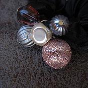 """Украшения ручной работы. Ярмарка Мастеров - ручная работа резинка для волос """"Холодный нуар"""". Handmade."""