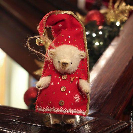 Мишки Тедди ручной работы. Ярмарка Мастеров - ручная работа. Купить Новогодний Мишка Тедди - Олаф. Handmade. Мишка тедди