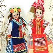 Dolls handmade. Livemaster - original item Ukrainian dolls in folk costumes. Handmade.