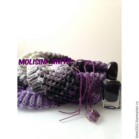 Шарфы и шарфики ручной работы. Ярмарка Мастеров - ручная работа. Купить шарф снуд Paradiso. Handmade. Снуд, купить шарф