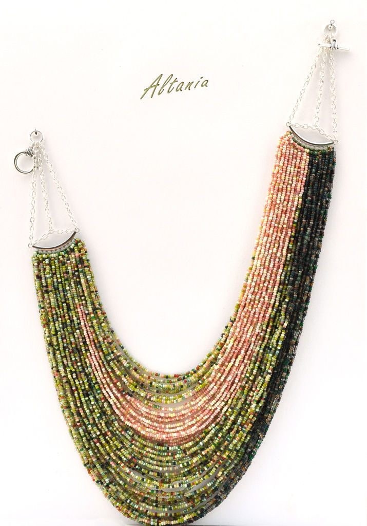 Uralskie SKAZY - necklace with beaded strands, Necklace, Sarov,  Фото №1