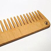 Сувениры и подарки handmade. Livemaster - original item The comb is made of solid maple. Handmade.