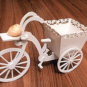 Для дома и интерьера ручной работы. Ярмарка Мастеров - ручная работа Кашпо Велосипед. Handmade.