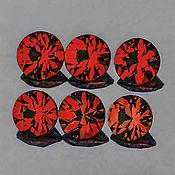 Материалы для творчества handmade. Livemaster - original item Noble Spinel 3,5 mm. VVS1. Handmade.