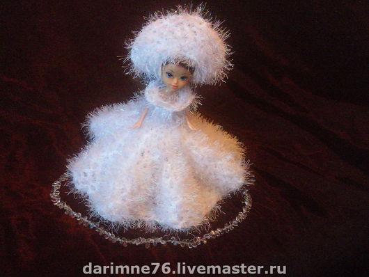 Одежда для кукол ручной работы. Ярмарка Мастеров - ручная работа. Купить Снежная королева. Handmade. Платье