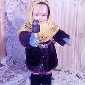 Куклы и пупсы ручной работы. Ярмарка Мастеров - ручная работа Кукла Малышка в зимнем. Handmade.