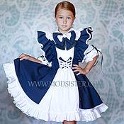 Одежда handmade. Livemaster - original item School dress Art.068. Handmade.