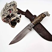 Сувениры и подарки handmade. Livemaster - original item Boar Knife. Handmade.