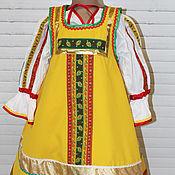 Одежда ручной работы. Ярмарка Мастеров - ручная работа Русский народный  костюм  Аленушка. Handmade.