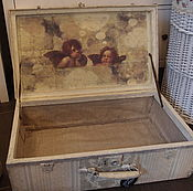 Для дома и интерьера ручной работы. Ярмарка Мастеров - ручная работа Старый чемодан. Handmade.