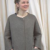 Одежда handmade. Livemaster - original item Felted coat Short-Secretamente. Handmade.