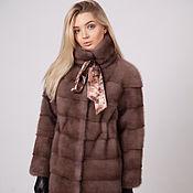 Одежда handmade. Livemaster - original item Fur coat mink