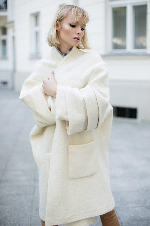 5ffe270e8 Пальто - кокон, весна-осень №2 – купить в интернет-магазине на ...