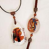 """Украшения ручной работы. Ярмарка Мастеров - ручная работа Комплект """"Египет"""". Handmade."""