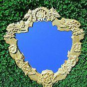 Для дома и интерьера ручной работы. Ярмарка Мастеров - ручная работа Зеркало резное, Липа. Handmade.