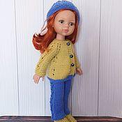 Одежда для кукол ручной работы. Ярмарка Мастеров - ручная работа Одежда для куклы Паола Рейна. Вязаный костюм для куклы.. Handmade.